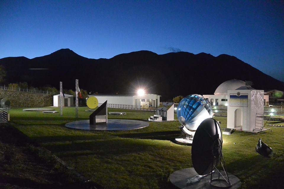Laboratorio astronomico all'aperto